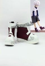 ハンター×ハンター キルア=ゾルディック風 03 コスプレ靴 ブーツ