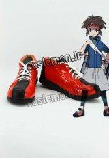 ブラック2・ホワイト2 キョウヘイ風 コスプレ靴 ブーツ