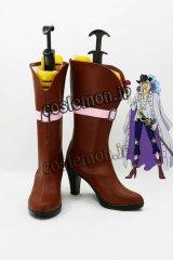 ONE PIECE ワンピース 白馬のキャベンディッシュ風 コスプレ靴 ブーツ