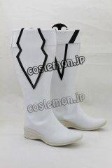 VOCALOID ブラック★ロックシューター風 コスプレ靴 ブーツ
