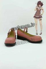 東方Project 因幡てゐ風 コスプレ靴 ブーツ