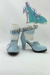 劇場版 マクロスF マクロスフロンティア 虚空歌姫風 コスプレ靴 ブーツ