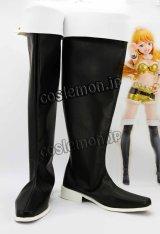 アイドルマスター THE IDOLM@STER 星井美希風 02 コスプレ靴 ブーツ