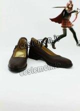 ファイナルファンタジー 零式 FINAL FANTASY TYPE-0 朱雀0組 レム風 コスプレ靴 ブーツ