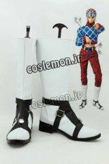 ジョジョの奇妙な冒険 第5部 黄金の風 グイード・ミスタ風 コスプレ靴 ブーツ