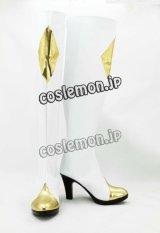 コードギアス 反逆のルルーシュ C.C.風 シーツー コスプレ靴 ブーツ