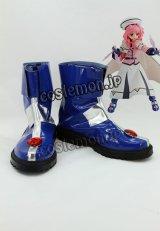 魔法少女リリカルなのは キャロ・ル・ルシエ風 コスプレ靴 ブーツ