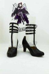 魔法少女まどか☆マギカ 暁美ほむら風 02 コスプレ靴 ブーツ