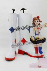 THE IDOLM@STER アイドルマスター 天海春香風 あまみはるか コスプレ靴 ブーツ