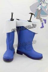 VOCALOID4 ボーかロイド 雪ミク 氷山キヨテル風 コスプレ靴 ブーツ