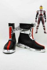 ヒーロー ファイズ風 メイン コスプレ靴 ブーツ