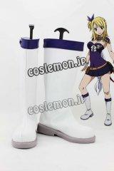 ルーシィ・ハートフィリア風 02 コスプレ靴 ブーツ