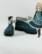ブラック・ブレット BLACK BULLET ティナ・スプラウト風 コスプレ靴 ブーツ