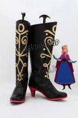 アナと雪の女王 Frozen アナ風 Anna コスプレ靴 ブーツ
