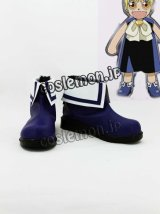 金色のガッシュベル!! ガッシュ・ベル風 コスプレ靴 ブーツ