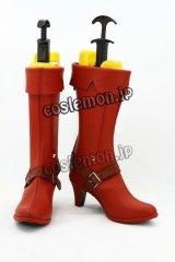 アドベンチャー・タイム Adventure Time マーセリン風 コスプレ靴 ブーツ