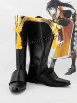 ファイアーエムブレムif オボロ風 コスプレ靴 ブーツ
