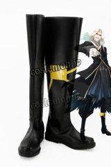 Fate/Apocrypha フェイト/アポクリファ ヴラド三世風 黒のランサー コスプレ靴 ブーツ