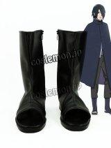 NARUTO -ナルト- うちはサスケ風 コスプレ靴 ブーツ