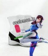オーバーウォッチ Overwatch ディーバ D.Va/ハナ・ソング風 Hana Song コスプレ靴 ブーツ