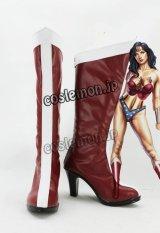 ジャスティス・リーグ Justice League ワンダーウーマン風 コスプレ靴 ブーツ