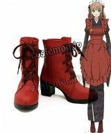アムネシア AMNESIA SHIN 主人公風 コスプレ靴 ブーツ