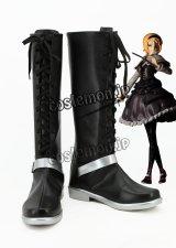 東方Project アリス ファンタジー コスプレ靴 ブーツ