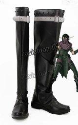 ヒーローズ・オブ・マイト・アンド・マジック風 Heroes of Might and Magic コスプレ靴 ブーツ