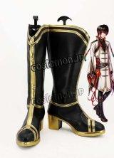夢王国と眠れる100人の王子様 アキト風コスプレ靴 ブーツ
