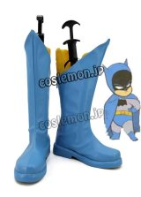 The Batman ザ・バットマン  Little League バットマン風 コスプレ靴 ブーツ