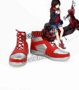 RWBY ルビー風 Ruby Rose コスプレ靴 ブーツ