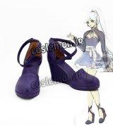 RWBY ルビー Volume 4 ワイス・シュニー風 03 コスプレ靴 ブーツ