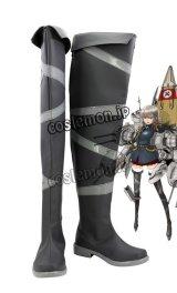 艦隊これくしょん -艦これ- Bismarck ビスマルク風 コスプレ靴 ブーツ