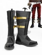 ゴッドイーター2 男主人公風 03 コスプレ靴 ブーツ