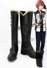あんさんぶるスターズ! Knights 騎士道 朱桜司風 すおうつかさ コスプレ靴 ブーツ