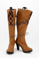 グランブルーファンタジー GRANBLUE FANTASY ヴィーラ・リーリエ風 コラボ衣装 コスプレ靴 ブーツ