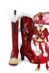 キラキラ プリキュアアラモード KIRAKIRA PRECURE A LA MODE 剣城 あきら風 キュアショコラ コスプレ靴 ブーツ