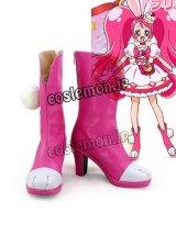 キラキラ プリキュアアラモード KIRAKIRA PRECURE A LA MODE 宇佐美いちか風 キュアホイップ コスプレ靴 ブーツ