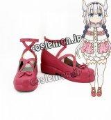 小林さんちのメイドラゴン カンナカムイ風 コスプレ靴 ブーツ