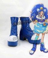 キラキラ☆プリキュアアラモード KIRAKIRA ☆ PRECURE A LA MODE 立神あおい風 たてがみあおいキュアジェラート コスプレ靴 ブーツ