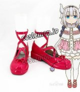 小林さんちのメイドラゴン カンナカムイ風 02 コスプレ靴 ブーツ