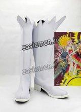 カードキャプターさくら 木之本桜風 20周年記念版 コスプレ靴 ブーツ