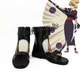 NARUTO -ナルト- 疾風伝 テマリ風 コスプレ靴 ブーツ