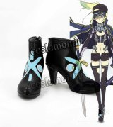 Fate/Grand Order フェイト・グランドオーダー 謎のヒロインX風 オルタ コスプレ靴 ブーツ