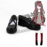 灰色庭園 マカロナ風 macarona コスプレ靴 ブーツ