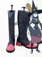 リトル ウィッチ アカデミア Little Witch Academia アーシュラ先生風 コスプレ靴 ブーツ