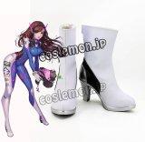 オーバーウォッチ Overwatch ディーバ D.Va ハナ・ソング風 Hana Song 02 コスプレ靴 ブーツ