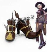 オーバーウォッチ Overwatch 天使 マーシー Mercy アンジェラ・ジーグラー風 Angela Ziegler コスプレ靴 ブーツ