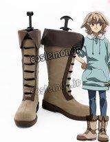 鉄血のオルフェンズ アトラ・ミクスタ風 コスプレ靴 ブーツ