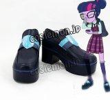 マイリトルポニー: エクエストリア・ガールズ - フレンドシップ・ゲーム My Little Pony: Equestria Girls – Friendship Games サイトワイ ミッドナイトスパークル風 コスプレ靴 ブーツ